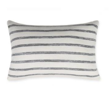Kenneth Cole Reaction Home Mineral Oblong Throw Pillow in Cement Grey