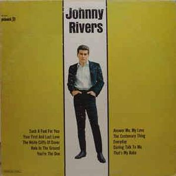 Johnny Rivers - Johnny Rivers (LP, Mono)