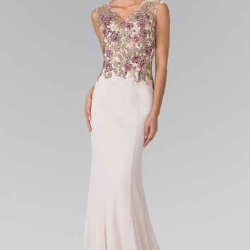 floral evening gown  gls 2270
