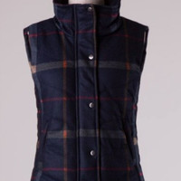 Mad About Plaid Vest