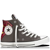 Converse - Chuck Taylor DC Comics- Superman - Hi - Charcoal/Varsity Red