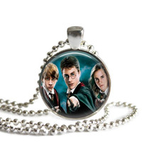 Harry Potter Hermione Granger and Ron Weasley Necklace