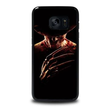 freddy krueger 2 samsung galaxy s7 edge case cover  number 1