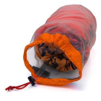 Travel Camping Sports Ultralight Mesh Stuff Sack Drawstring Storage Bag Stuff Sack Drawstring Bag