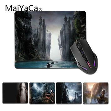 MaiYaCa  The Lord of Rings mouse pad gamer play mats Size for 18x22cm 25x29cm Gaming Mousemat