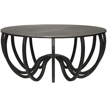 Ernest Coffee Table, Metal