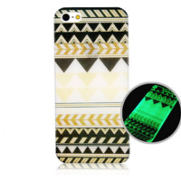 Iphone6 luminous phone case fluorescent protective cover painted phone shell