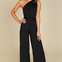 Multiway Wrap Jumpsuit Black