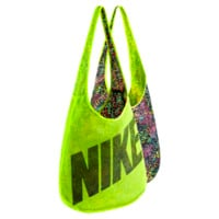 Nike Graphic Reversible Tote Bag - Volt