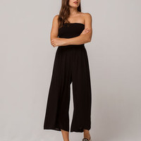 ADORA Smocked Tube Womens Jumpsuit