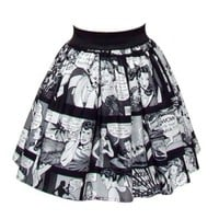 Pinup Comic Strip Skirt