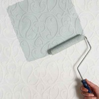 Graham & Brown Jude Paintable Wallpaper- White One