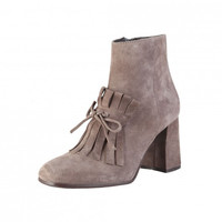 Made in Italia Luciana fringe Suede Ankle Boots