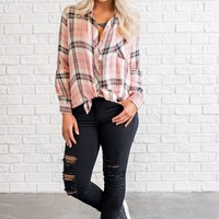 Colton Plaid Shirt (Pink)