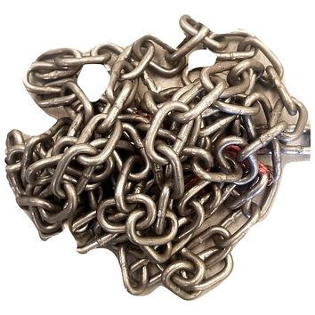 "10' chain 3/16"" for Welding Art Sculpture Projects UNCOATED"