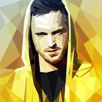 JESSE - BREAKING BAD Stretched Canvas by Mobokeh