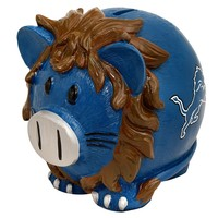 Detroit Lions Thematic Piggy Bank