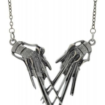 Rock Rebel Edward Scissorhands Pendant