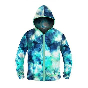 Ocean Tides - Light Up Hoodie
