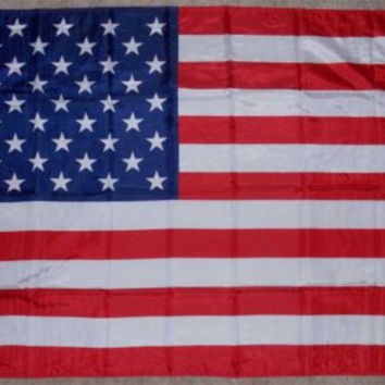 3'x5' USA Flag United States American Red White Blue Decor Patriotic Grommets