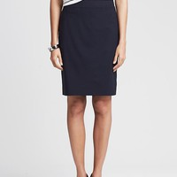 Banana Republic Womens Navy Lightweight Wool Pencil Skirt Size 4 - True navy