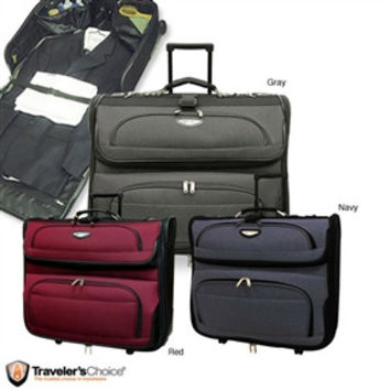 Dutch Rolling Travel Garment Bag Luggage