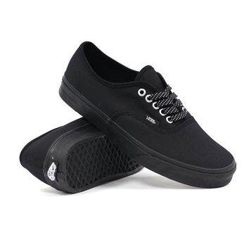Vans Authentic (Ballistic Black) (Vans VN0TSVM-53P), Skate Shoes | Skateboard Footwear