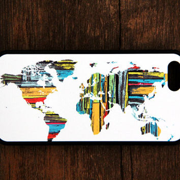 50% Off World Map Design iPhone 6/5S/5C/5/4S/4 iPod 5/4 Samsung Galaxy S5/S4/S3/S2/Note3/Note2 Case