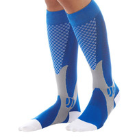 Unisex Leg Support Stretch Magic Compression Socks Performance workout fitness Socks 4 Colors S1