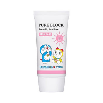 A'PIEU Pure Block Tone-Up Sun Base SPF50+ PA+++ DORAEMON EDITION