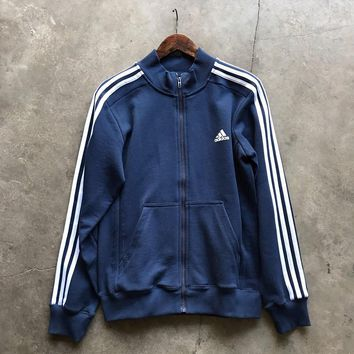 Adidas zipper fashion coat Sweatshirt H-RELAX-XS