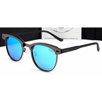 DCCKJL0 Prada Women Casual Sun Shades Eyeglasses Glasses Sunglasses