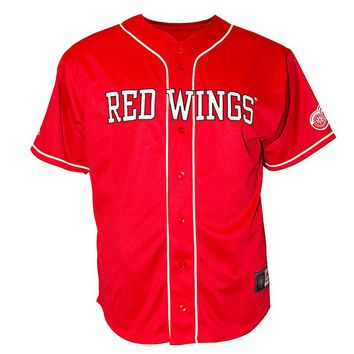Detroit Red Wings Baseball Jersey - Big &