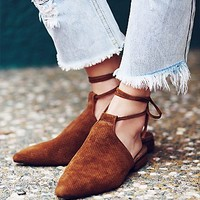 Jeffrey Campbell + Free People Womens Hey Juliet Flat