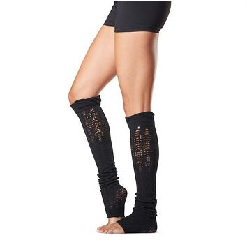 toesox - Ava Leg Warmer | Black