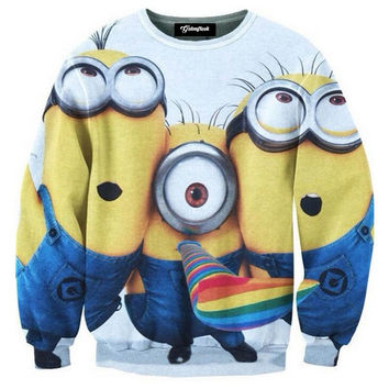 Minion Love Crewneck
