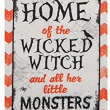 Kay Dee Designs Halloween Wicked Witch Kitchen Terry Towel (1), 16-inches X 26-inches, H5250