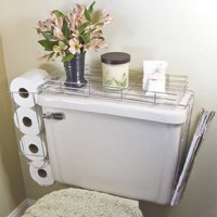 Toilet Caddy- 3 in 1 Organizer