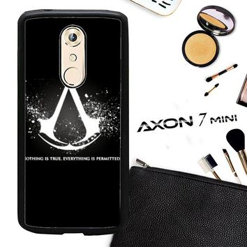 Assassins Creed Symbol Glow Z4434 ZTE AXON 7 Mini Case