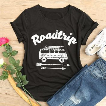 Road Trip - Van - Arrows - T-shirt