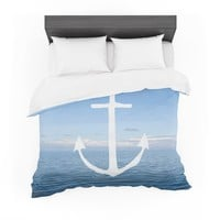 "Ann Barnes ""Roam III"" Anchor Featherweight Duvet Cover"