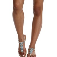 Natural Crystal Cove Sandals