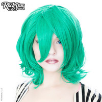Cosplay Wigs USA™  Boy Cut Short Shag - Seafoam Green -00445