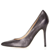 GWENDA Snake Textured Courts
