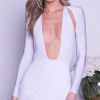 CANDICE DRESS IN WHITE