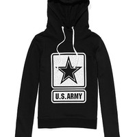 Army Bling Funnel-neck Hoodie - PINK - Victoria's Secret