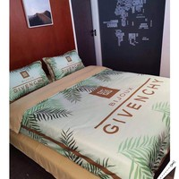 GIVENCHY Modal 4 Pieces Sheet Set Blanket For Home Decor Bedroom Living Rooms Sofa
