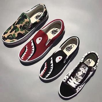 VLXZRBC Charmvip | Vans Slip-On Old Skool Canvas Casual Shoes Sneaker