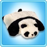 Panda Pillow Pet – 18 inch Large Folding Plush Stuffed Animal Pillow