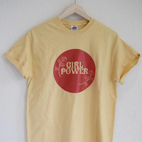 Groovy Girl Power Vintage Inspired Tee